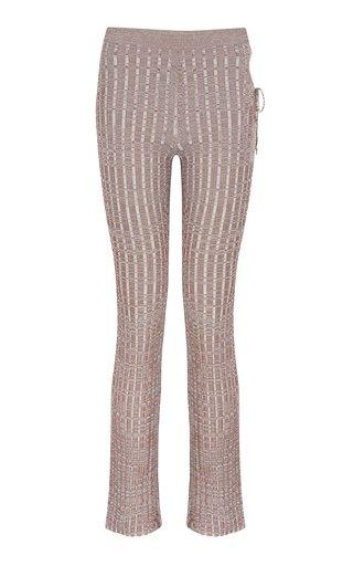 Emzar Knit Straight-Leg Pants