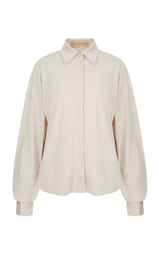 Opal Crepe-De-Chine Shirt