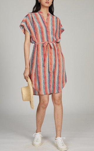 Tilda Printed Silk Dress