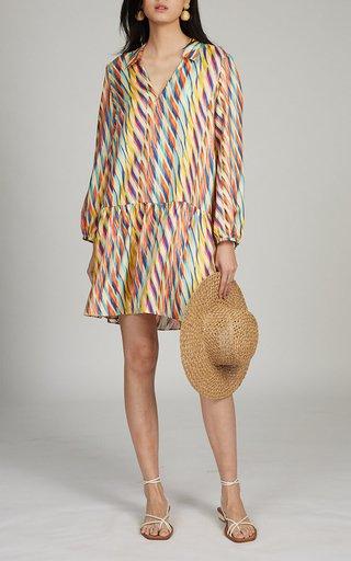 Jas Printed Silk Dress
