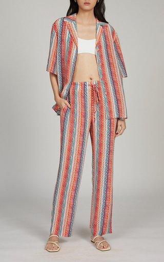 Dree Striped Silk Shirt
