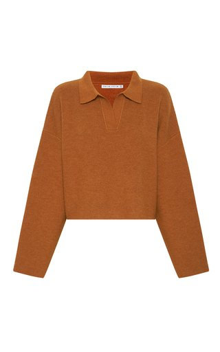 Oversized Wool-Blend Sweater