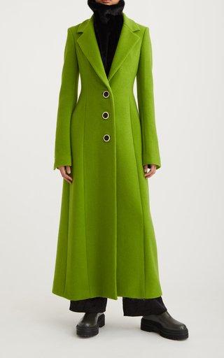 Structured Virgin Wool Coat Dress