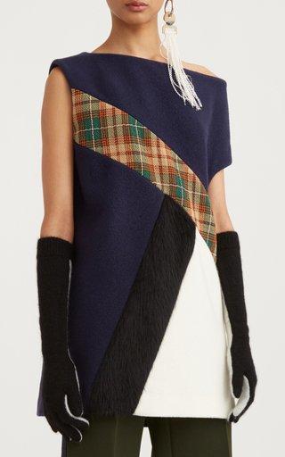 Patchwork Virgin Wool Tabard Top