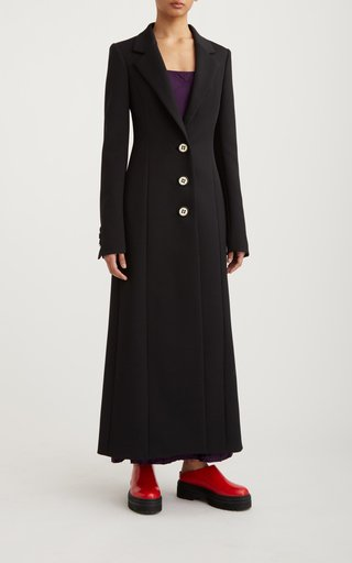 Structured Knit Coat Dress