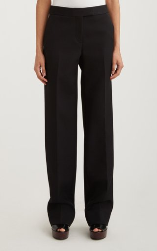 Slouch High-Waisted Crepe Pants