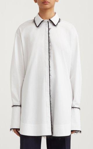 Alex Piped Cotton-Blend Shirt