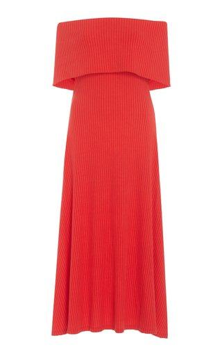 Imogen Off-The-Shoulder Knit Dress