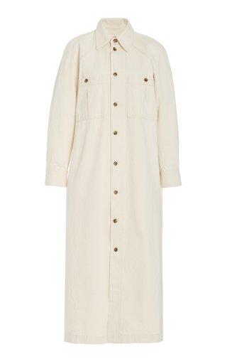 Charolette Woven-Cotton Maxi Dress
