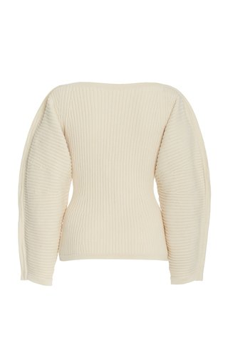 Nasira Ribbed Knit Sweater