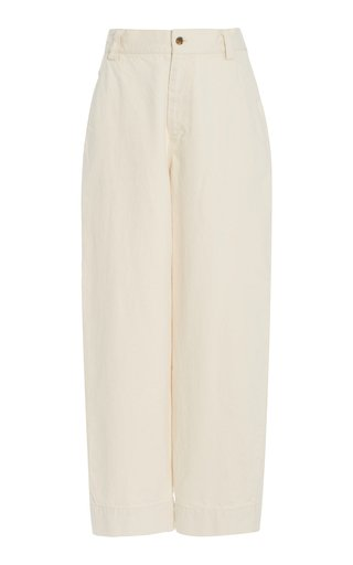 Gia High-Waisted Wide-Leg Jeans
