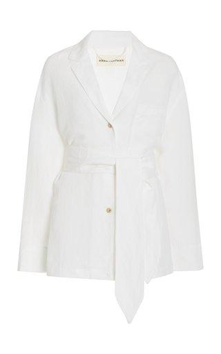 Eleanor Linen-Blend Shirt