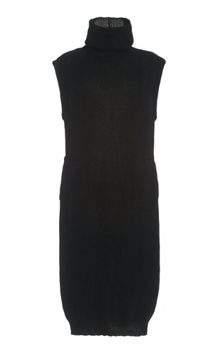 Fadia Turtleneck Knit Maxi Dress