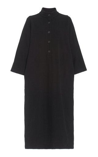 Sadia Linen-Cotton Maxi Dress
