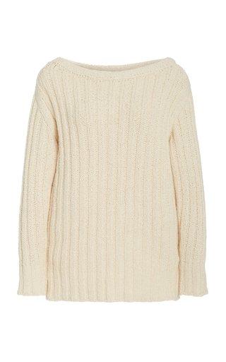 Marlena Knit Cotton Sweater