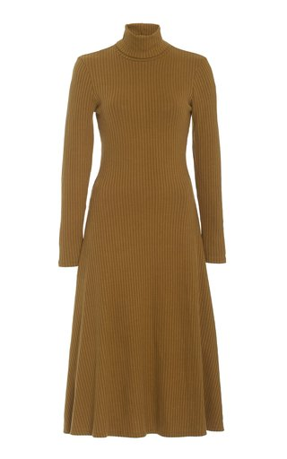Taci Ribbed Knit Dress