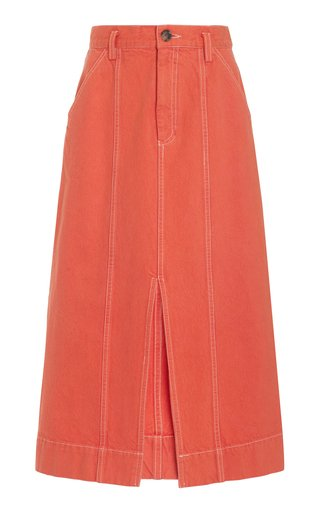 Nakita Cotton Denim Skirt