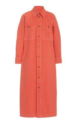 Charolette Denim Maxi Dress