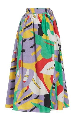 Katrine Printed Maxi Skirt
