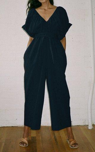 Sunniva Woven Linen Jumpsuit