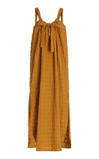 Lexi Woven Cotton Maxi Dress