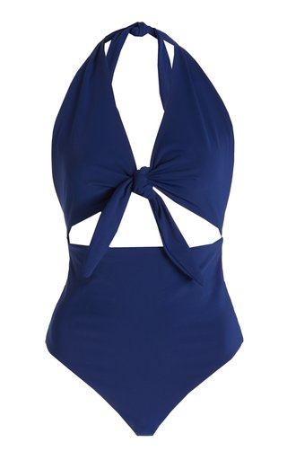 Maddy Tie-Front One-Piece Swimsuit