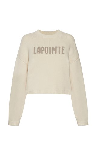 Logo Wool-Cashmere Sweater