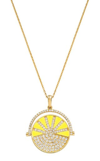 18K Yellow Gold Ready 2 Play Pendant