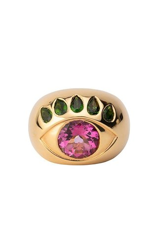 18K Gold Ready To See You Ring