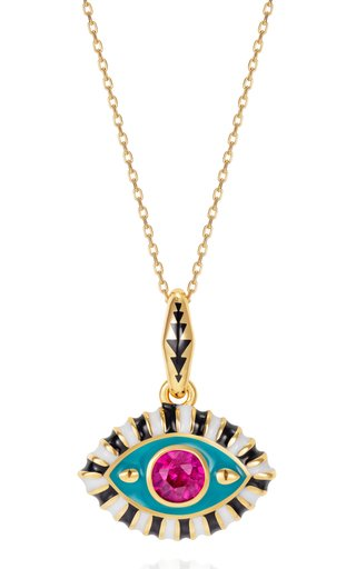 14K Gold Life In Color Pendant
