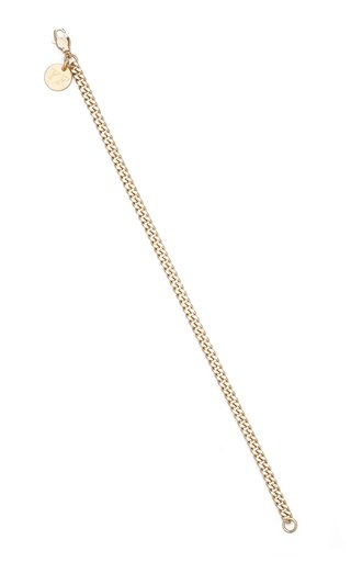 Zadie 24K Gold-Plated Chain Anklet