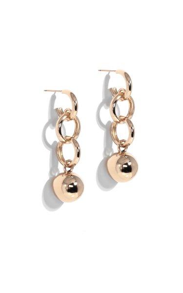 Gold-Plated Dakari Drop Earrings