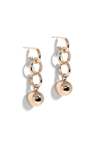 Gold-Plated Dakari Drop Earrings