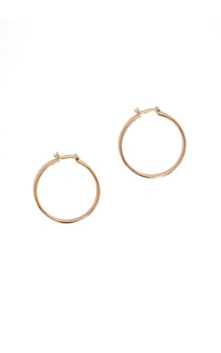 14K Gold-Vermeil Bailey Hoop Earrings