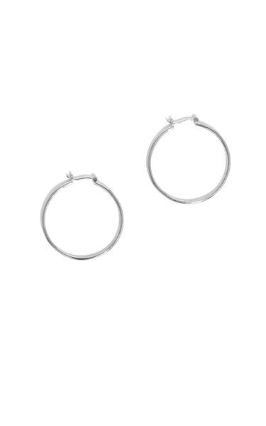 Sterling Silver Bailey Hoop Earrings