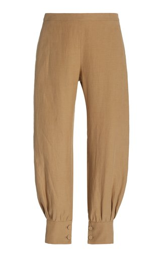 Hopper Button-Cuffed Pants
