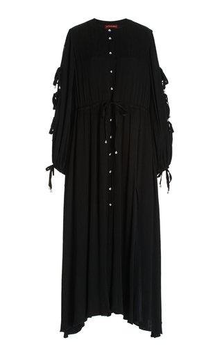 Judith Floral-Print Maxi Dress