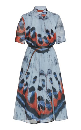 Kieran Printed Crepe Dress