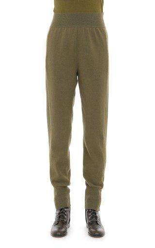 Cashmere Blend Cuffed Trouser