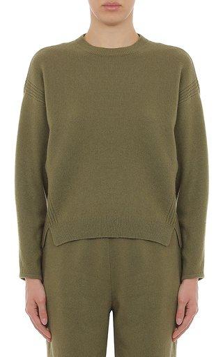 Cashmere Blend Crewneck Sweatshirt