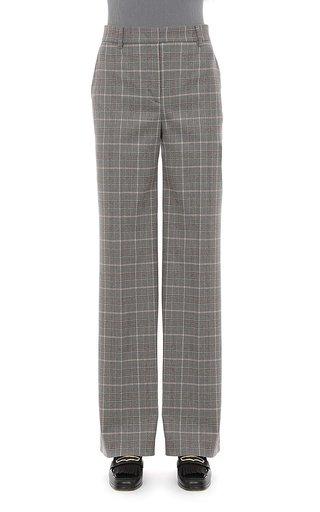 Tartan Wool Trousers