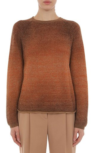 Ombre Dyed Eco Cotton/Wool Sweater