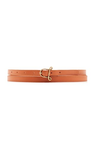 "Small ""A"" Leather Belt"
