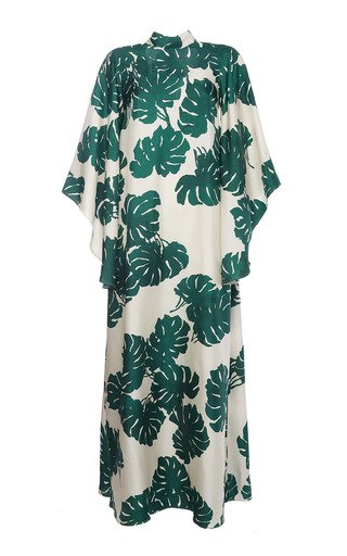 Magnifico Printed Silk Dress