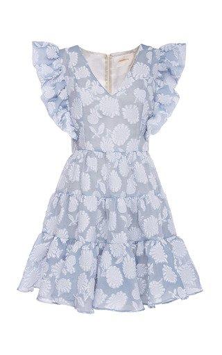 Honeybun Ruffled Knit Dress