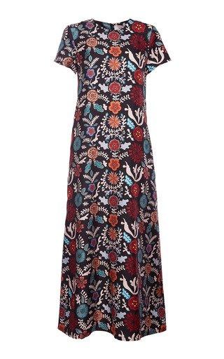 Silk Swing Dress