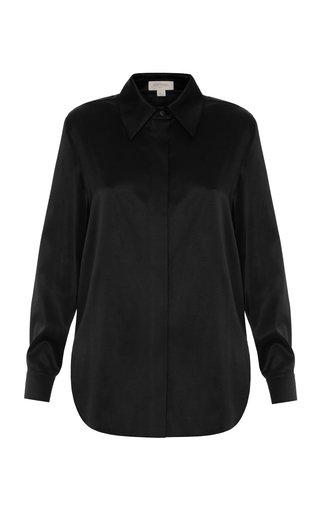 Collared Silk Shirt