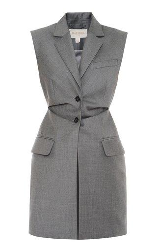 Collared Virgin Wool Vest