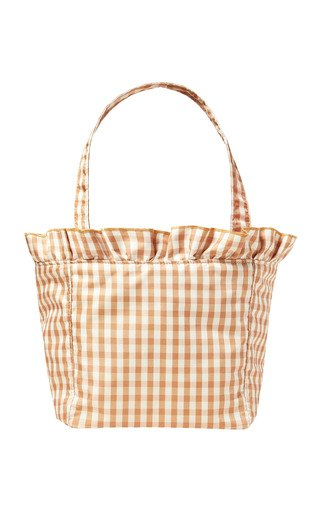 Claire Gingham Nylon Tote