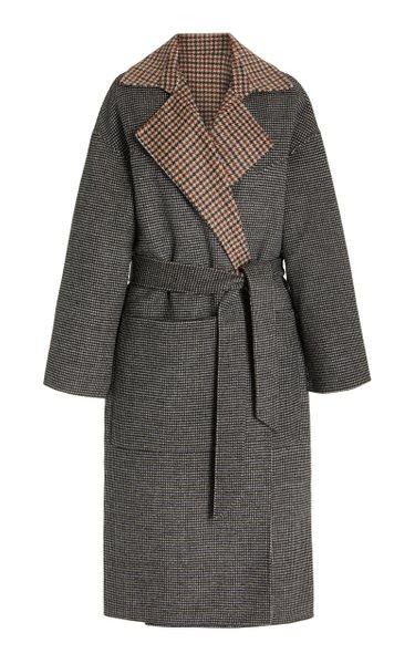 Alamo Reversible Wool Coat